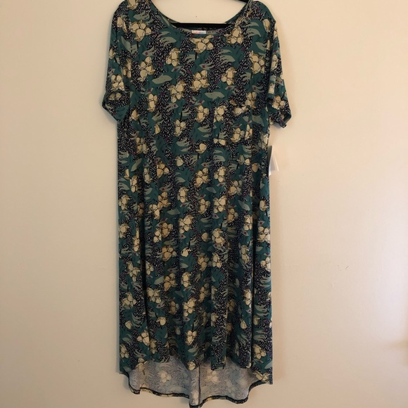 LuLaRoe Dresses & Skirts - Carly Floral -NWT